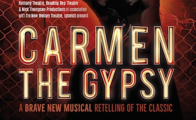 Christina Tedders in Carmen the Gypsy