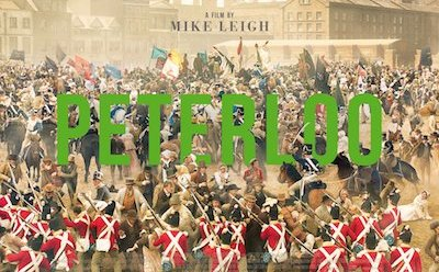 Dan Bottomley in Mike Leigh's Peterloo