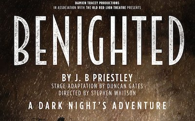 Jessica Bay in Benighted at The Old Red Lion Theatre