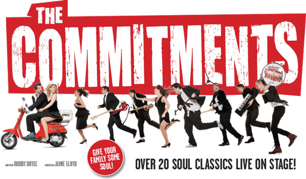 Christina Tedders in The Commitments on Tour