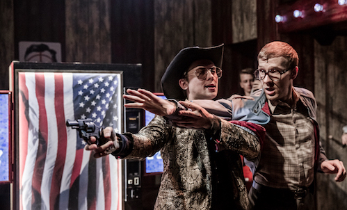 In 'Assassins' at The Watermill Theatre/Nottingham Playhouse