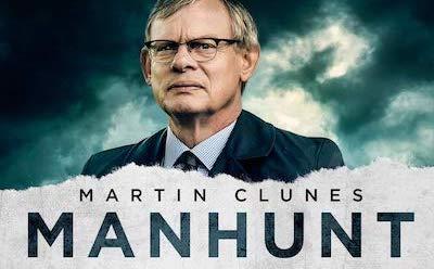 John Albasiny in ITV's Manhunt